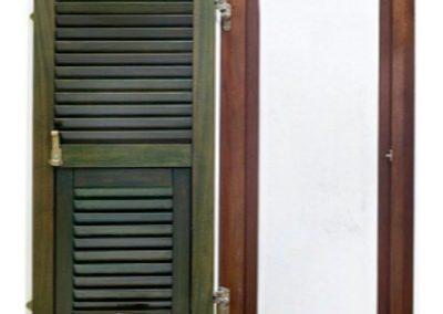 Μονόφυλλο παράθυρο σε ξυλεία νιαγκόν