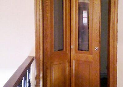 Ταμπλαδωτή περαστή σπαστή ξύλινη πόρτα