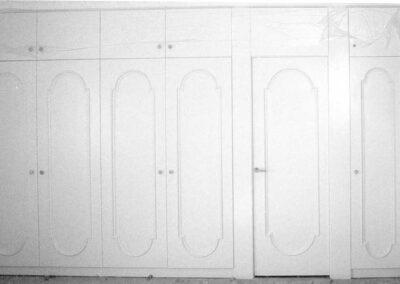 Πεντάφυλλη ντουλάπα από μασίφ